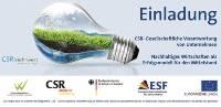Wirtschaftsforum: CSR-Gesellschaftliche Verantwortung von Unternehmen