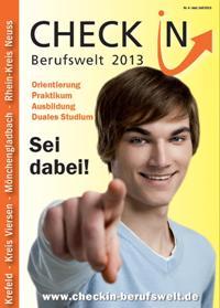 Download Plakat: Check-IN Berufswelt 2013