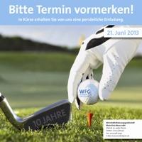 WFG Business Cup 2013 -Termine vormerken!
