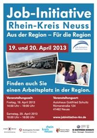 Job-Initiative Rhein-Kreis Neuss am 19. und 20. April 2013