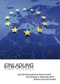 20 Jahre EU-Binnenmarkt