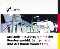 AUMA Auslandmesseprogramm der Bundesrepublik Deutschland und der Bundesländer 2014