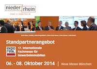 Standpartner-Angebot Expo Real 2014