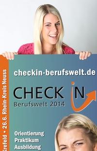 Check in Berufswelt 2014 im Rhein-Kreis Neuss