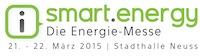 Messe: smart.energy 2015, 21-22. März 2015 | Stadthalle Neuss