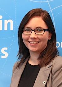 Neu im Team der Wirtschafsförderung des Rhein-Kreises Neuss: Anna Gascard