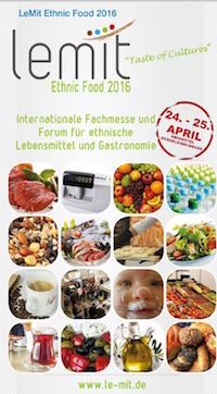 Lebensmittelmesse LeMit Ethnic Food 2016 in Neuss