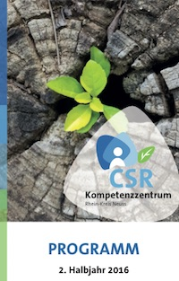CSR-Kompetenzzentrum - Angebote im 2. HJ 2016